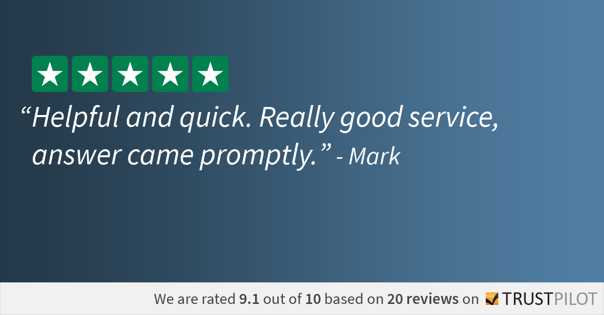 Trustpilot Review Mark